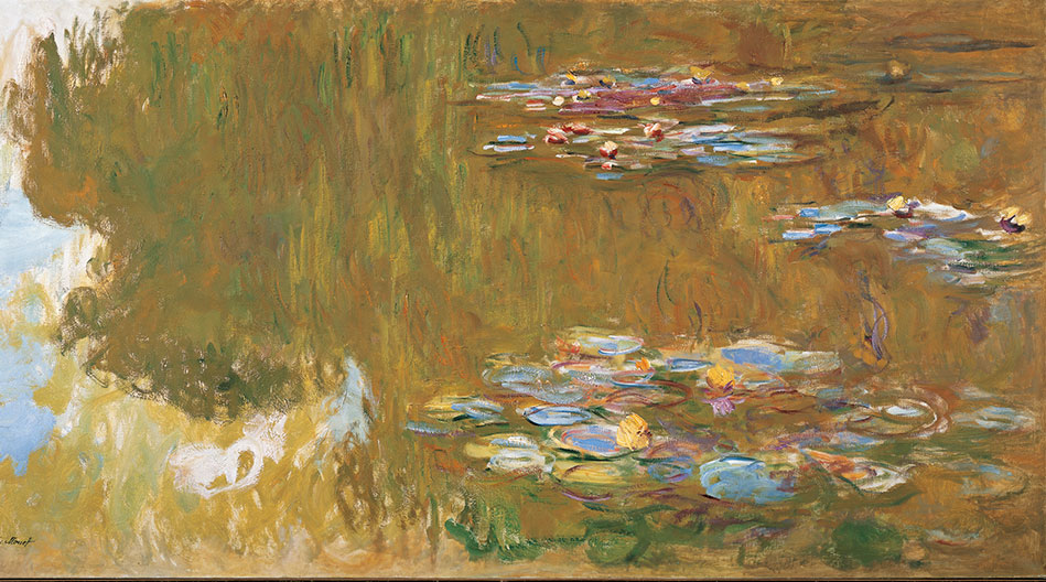 Water Lily Pond Monet Albertina exhibition